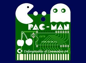 C64 PAC-MAN GAME CARTRIDGE