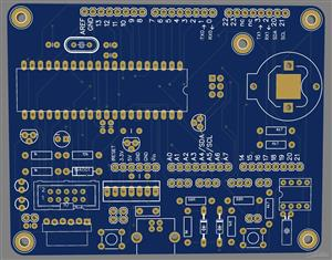 Ultra Powerful ATMega1284P powered Development Board