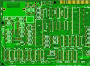 ZX Spectrum 48 Issue 3B Redrawn