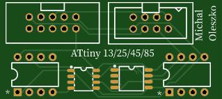 ATtiny Programmer Adapter