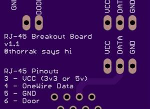 RJ-45 Sensor Breakout