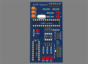 AVR ROGRAMMING BOARD