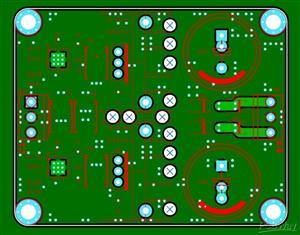 Low-noise symmetrical audio power supply
