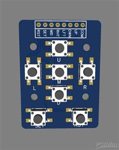 DIY Button joystick module
