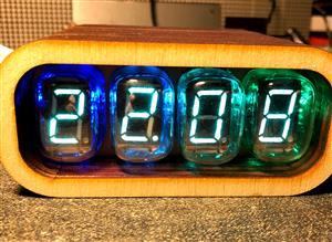 VFD Clock IV-22 & ESP12(ESP8266) WiFi