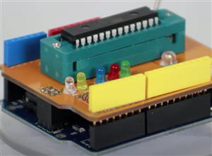ATmega328 Bootloader Shield - Arduino Haber