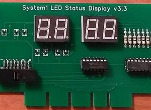 System1 4 Digit Status Credit Display