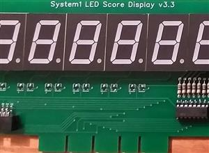 System1 6 Digit LED Display