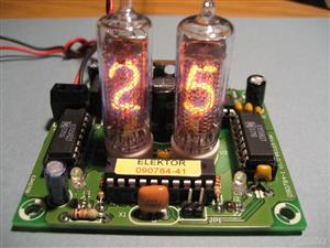Nixie Tube Thermometer in-16