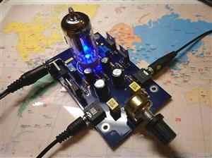 Vacuum Tube Audio Preamplifier