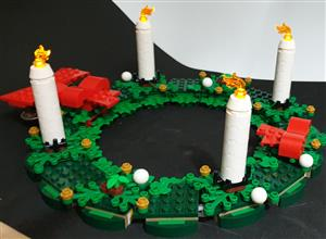 Advent Wreath Lighning Battery-System