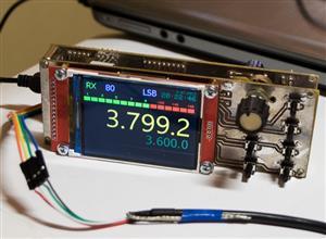 Universal Digital VFO Si570/Si5351  (Универсальный синтезатор Si570/Si5351)