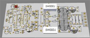 800w class D amplifier made from IRSD900 amplifier