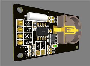 PCF8563 clock module