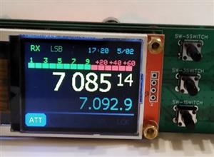 Digital VFO 1.8 main board плата управления