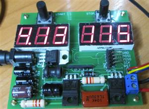 Electrolytic capacitor automatic forming device.