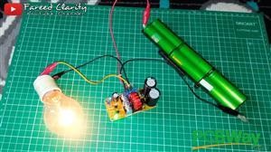 Inverter 12V to 300V DC