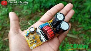 Mini Inverter 120W dc dc boost converter