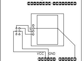 """OLED 0.96"""" I2C Scanner Shield"""