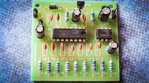PT2399 Audio microphone echo delay