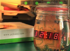 Cookie JAR clock of passion