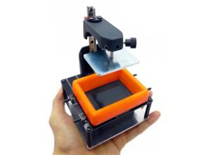 Lite3DP S1: MSLA 3D Printer, Arduino Based and Open Source (v0.0)