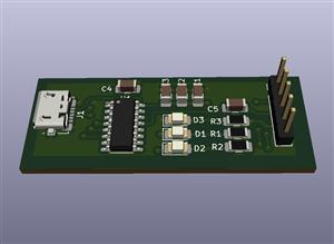 USB to UART Converter module