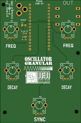 Arduino Nano Granular OSC
