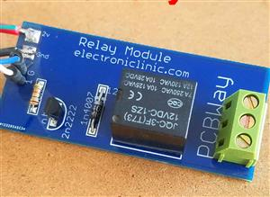 One Channel Relay Module for Arduino