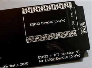 ESP32 TFT Combiner V1