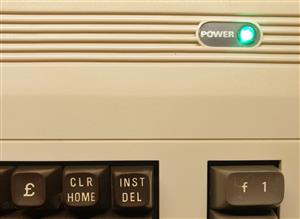 Commodore 64 IRQ LED