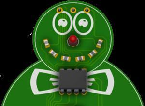 PCB Snowman Xmas