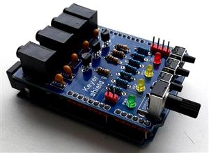 ARDUINO SHIELD K3NG KEYER