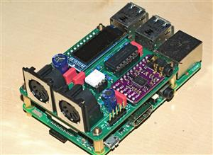 clumsyMIDI - Raspberry Pi expansion board