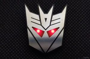 Decepticon pin badge