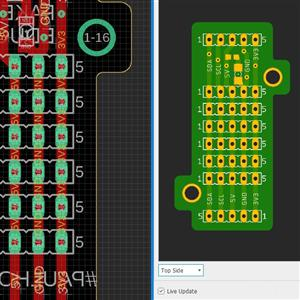 SMD sensor interface