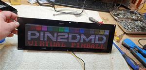 Pin2dmd PCB assembly