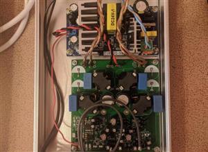 """amplifier TPA3255 CLASS - """" D """""""