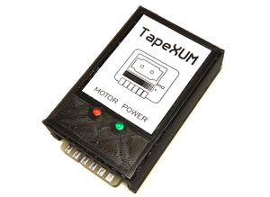 TapeXUM - Capture and write Commodore tapes via USB device