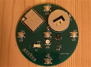 ESP07S WIFI Button