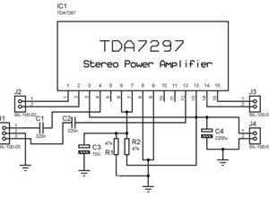 TDA-7297 POWER AMPLIFIER