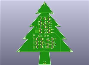 Discrete 555 Blinky Xmas Tree