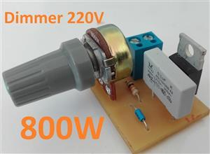 Dimmer 220V 800W