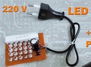 LED 220V light