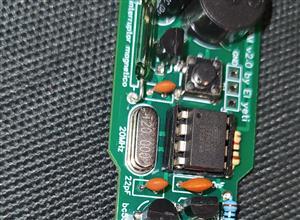 Detector de metales pinpointre yfm2 con attiny85