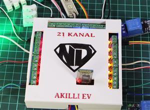 21 kanal Bluetooth Akilli Ev Sistemi
