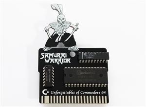 C64 Samurai Warrior: The Battles of Usagi Yojimbo Game Cartridge PCB