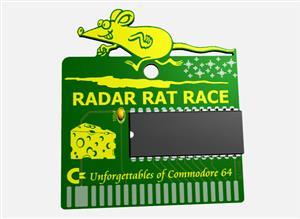 C64 RADAR RAT RACE GAME CARTRIDGE