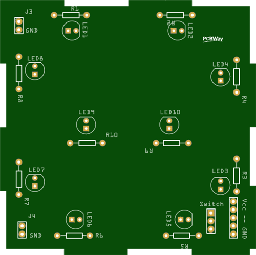 pcb without solder mask