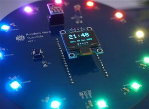 ESP32 Weather Station Interface PCB Shield (Temperature, Humidity, Pressure, Date and Time)